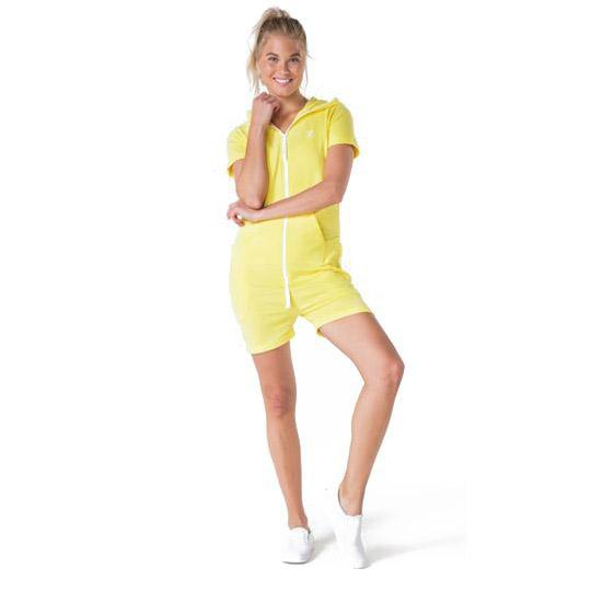 Onepiece Fitted Short S Soft Yellow