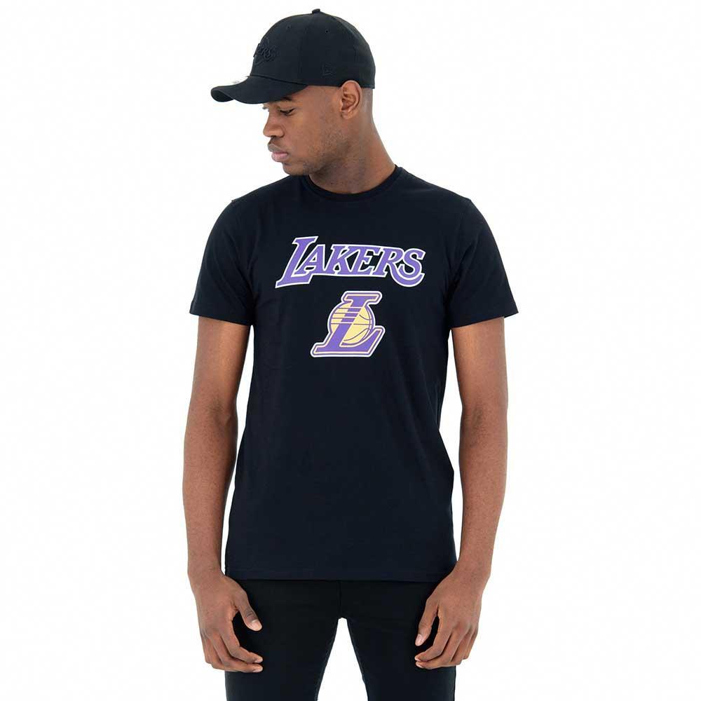 Team Era Logo New BlackMagliette Angeles Lakers Los zMjVGLqSUp