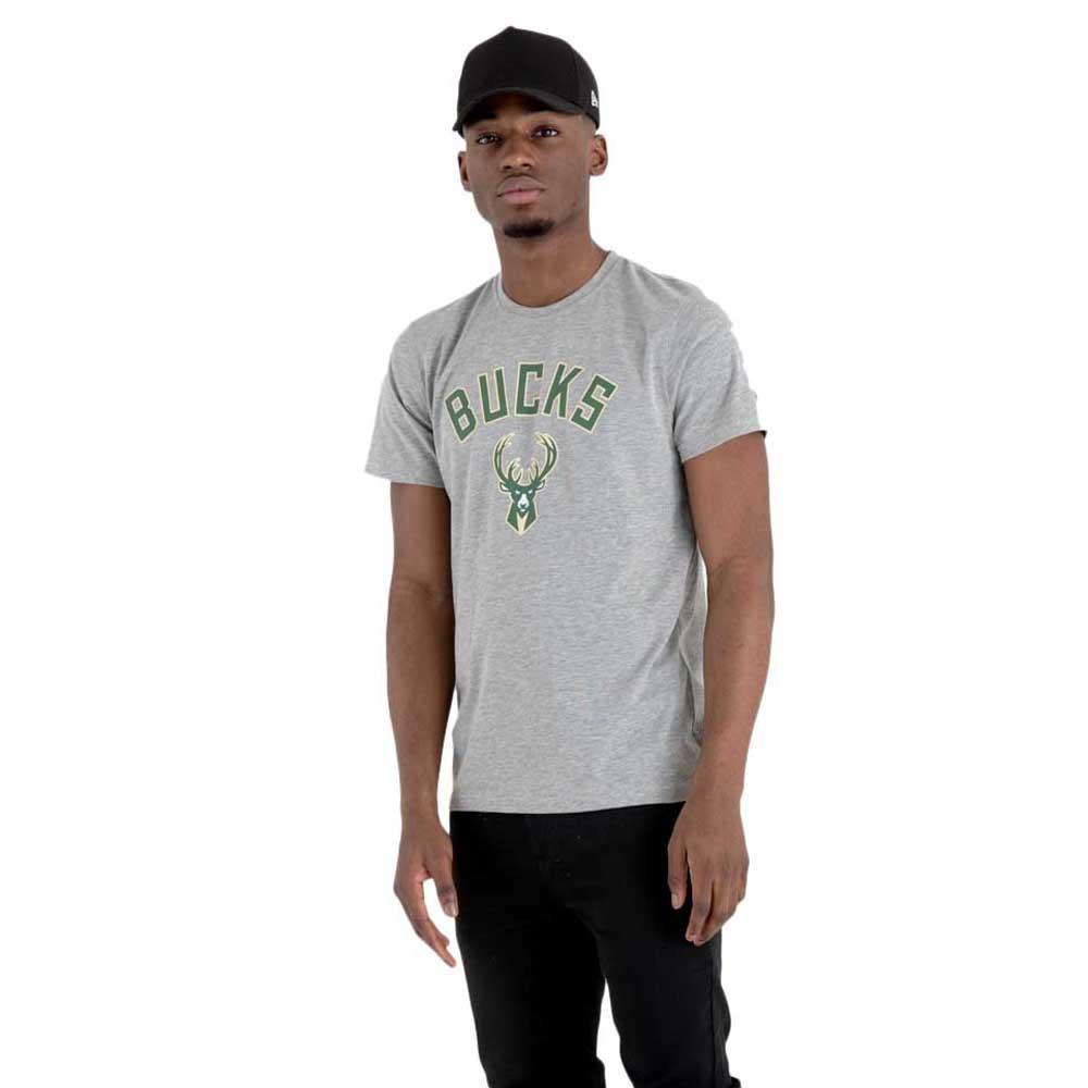 New Era Team Logo Milwaukee Bucks XXS Grey