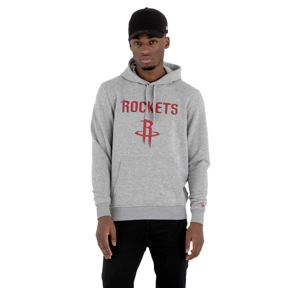 New Era Team Logo Po Hoody Houston Rockets M Grey