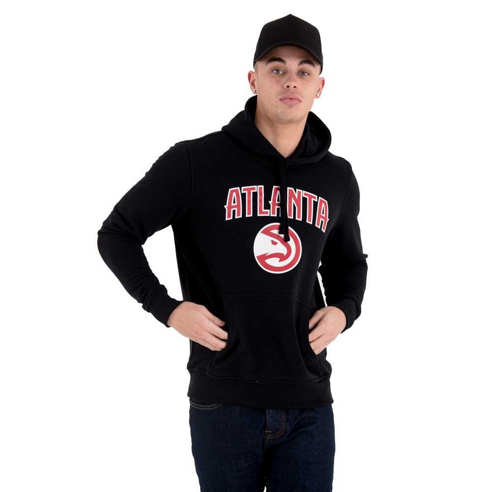 New Era Team Logo Po Hoody Atlanta Hawks XS Black
