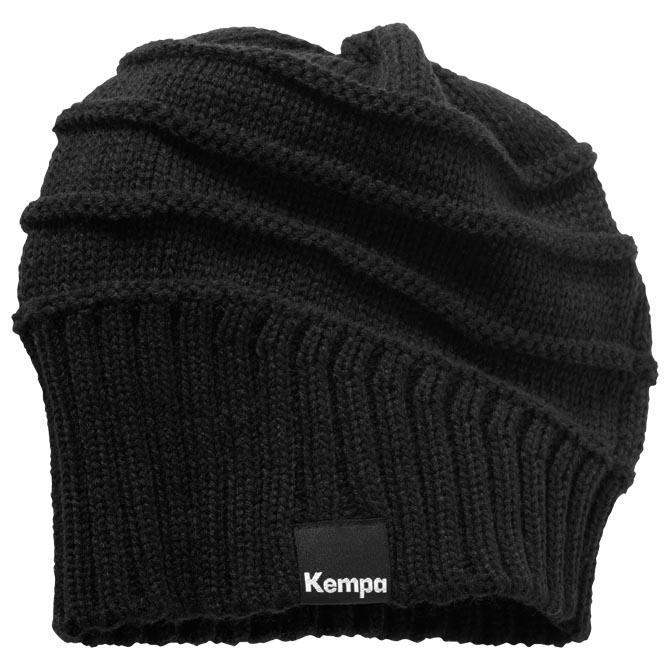 Kempa Bonnet Logo One Size Black
