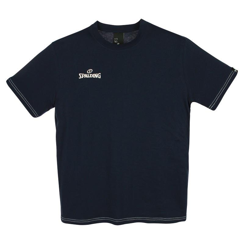 Spalding Team Ii Short Sleeve T-shirt 116 cm Navy