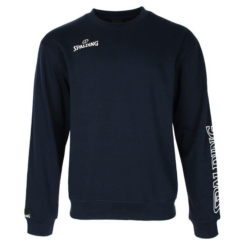 Spalding Team Ii Crew Sweatshirt S Navy