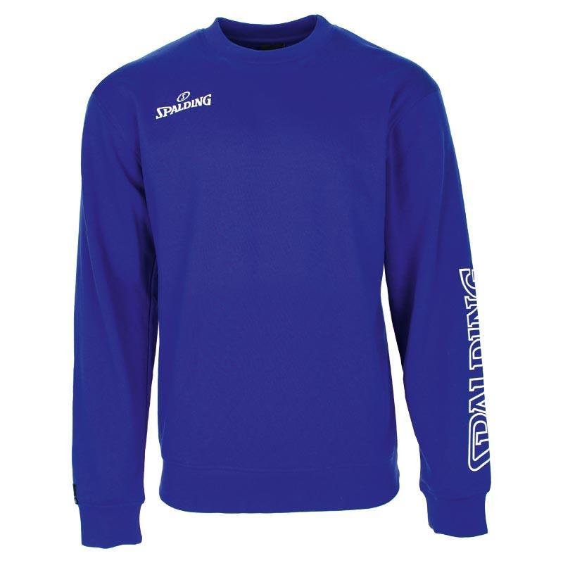 Spalding Team Ii Crew Sweatshirt S Royal