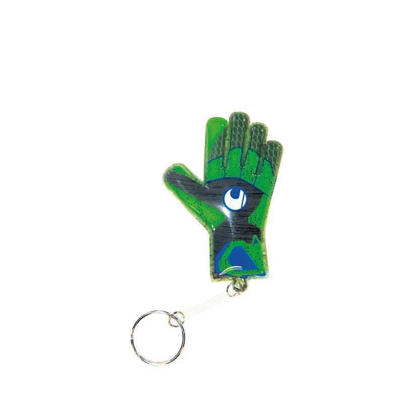 Uhlsport Tensiongreen Mini Glove 25 Units One Size Dark Grey Melange / Fluo Green