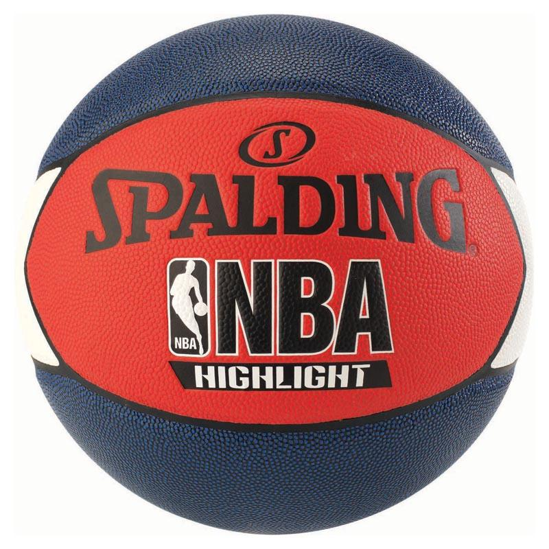 Spalding Nba Highlight Outdoor 7 Navy / Red / White