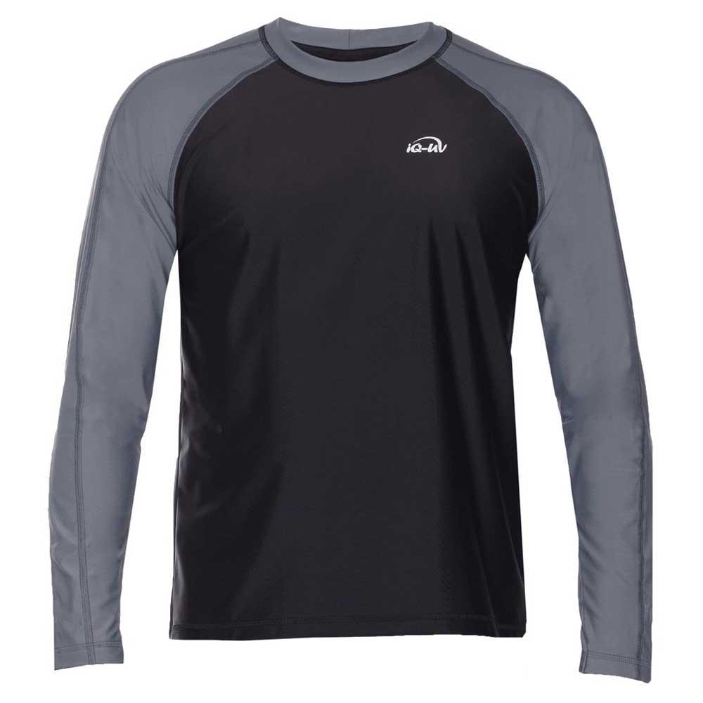 Iq-company Uv 300 Shirt Loose Fit L/s Schwarz , T-Shirts iQ-Company , schwimmen