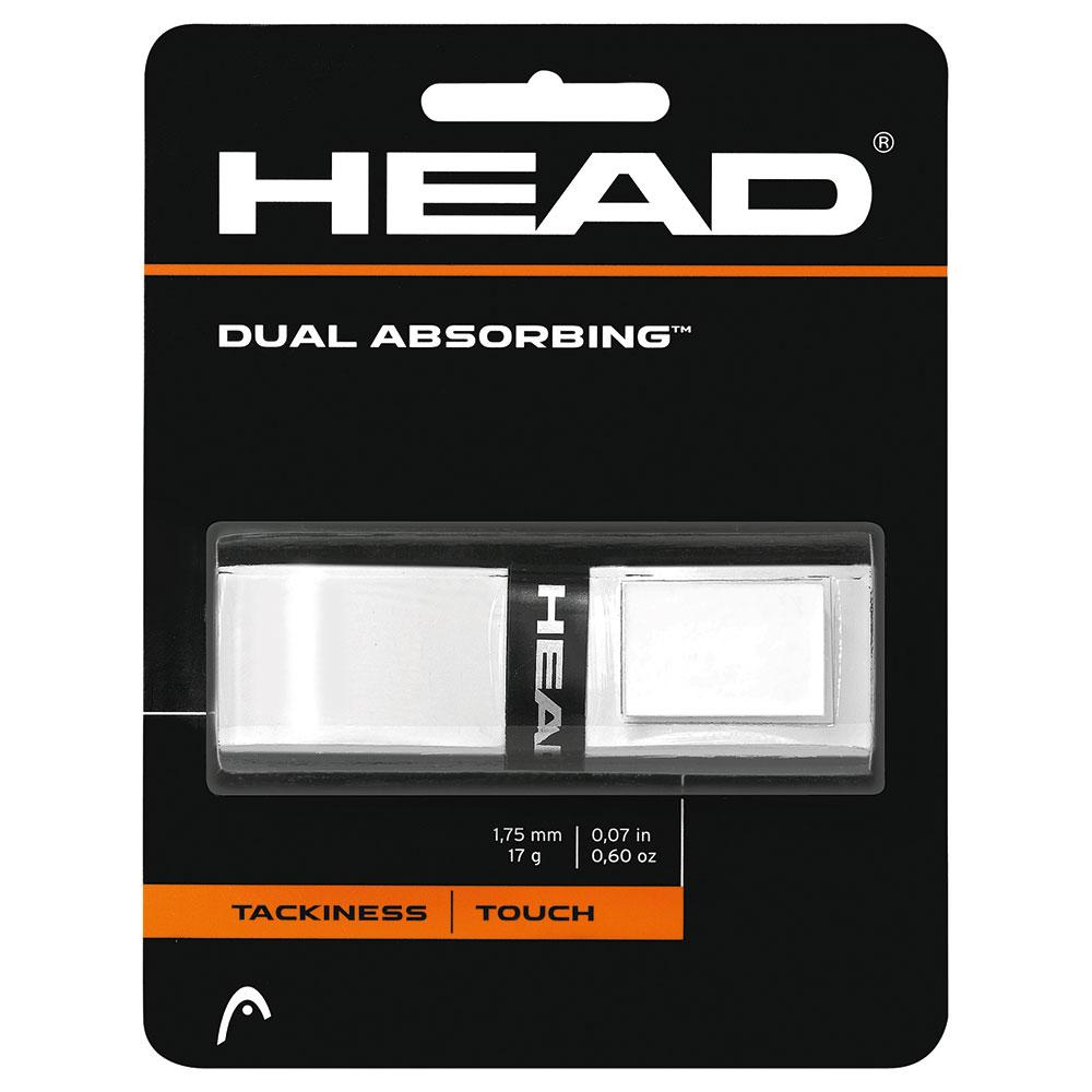 Head Racket Dual Absorbing One Size White