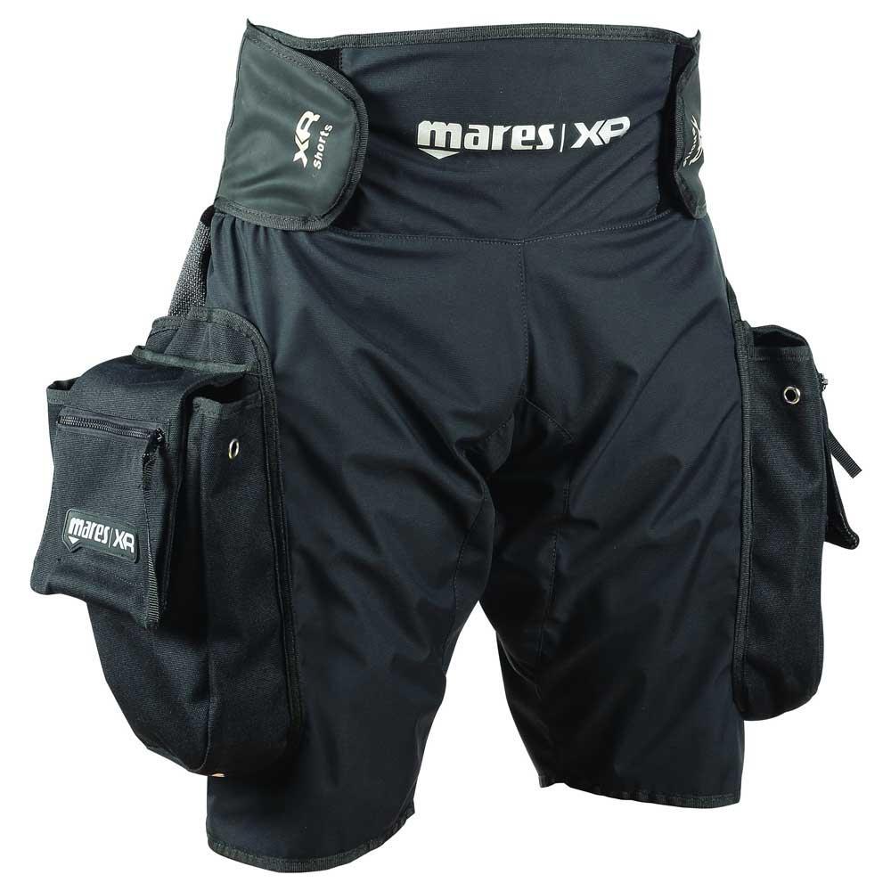mares-xr-tek-short-xxl-black