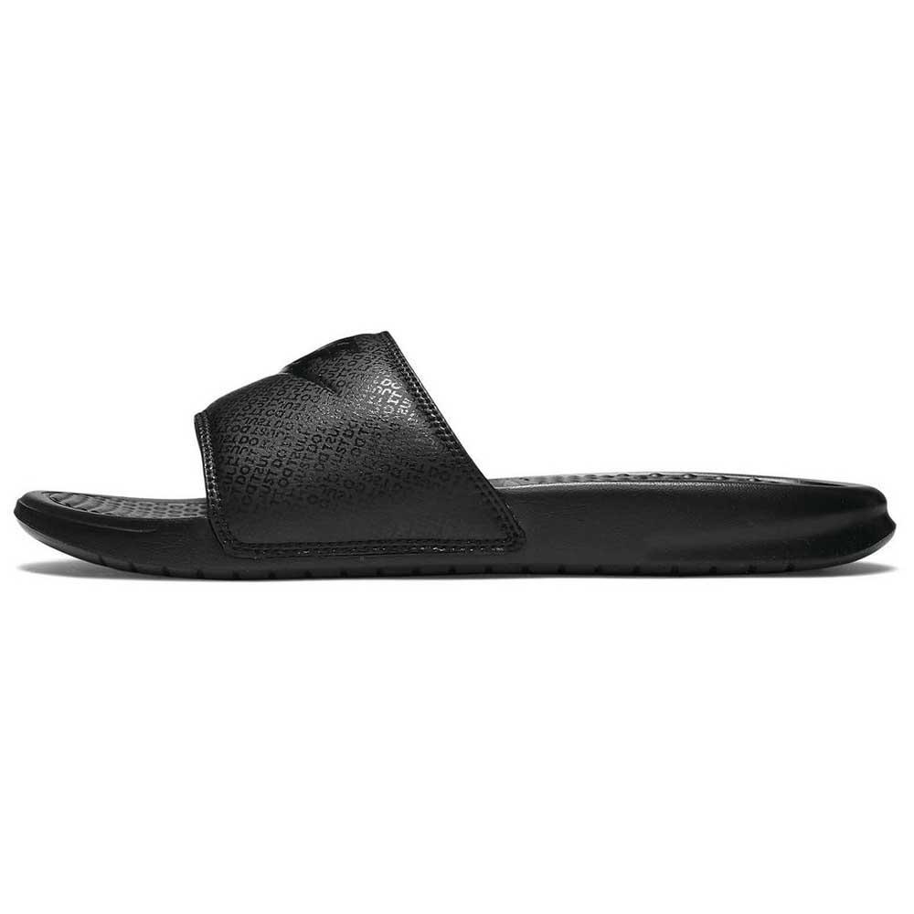 Nike Benassi Just Do It EU 41 Black / Black / Black