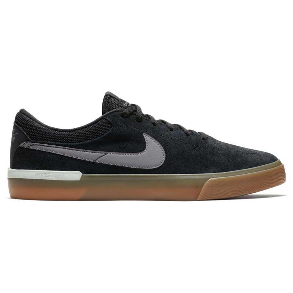 Nike sb koston hypervulc schwarz / gunsmoke / nike große grau / weiß, schuhe nike / sb b93cc7