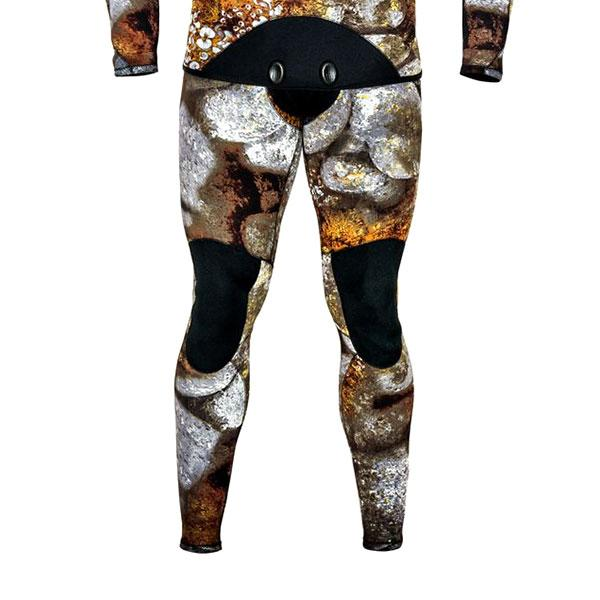 Picasso Stone Pants With Suspenders 7 Mm Marrón T47076  Trajes húmedos Unisex