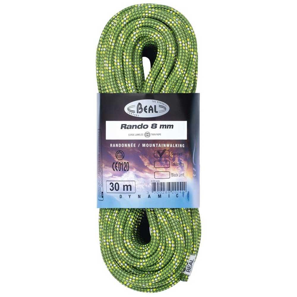 Beal Rando 8 Mm 200 m Green