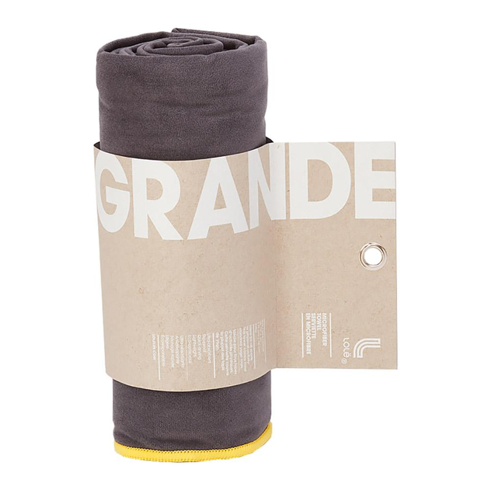 Lole Towel Large One Size Dark Charcoal