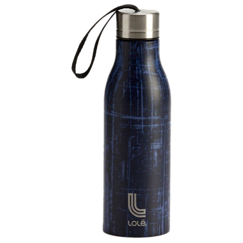 Lole Water Bottle One Size Nightfall Etched Lines