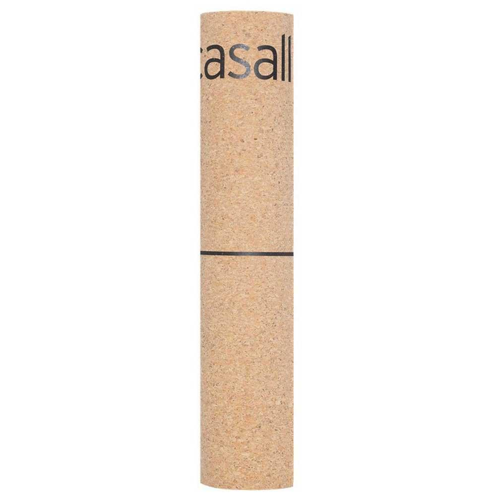 Casall Yoga Mat Natural Cork 5 Mm One Size Natural Cork / Black