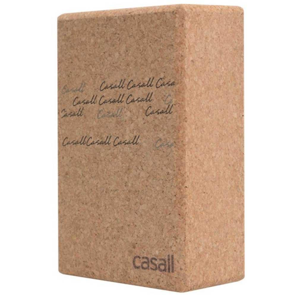 Casall Yoga Block Natural Cork One Size Natural Cork