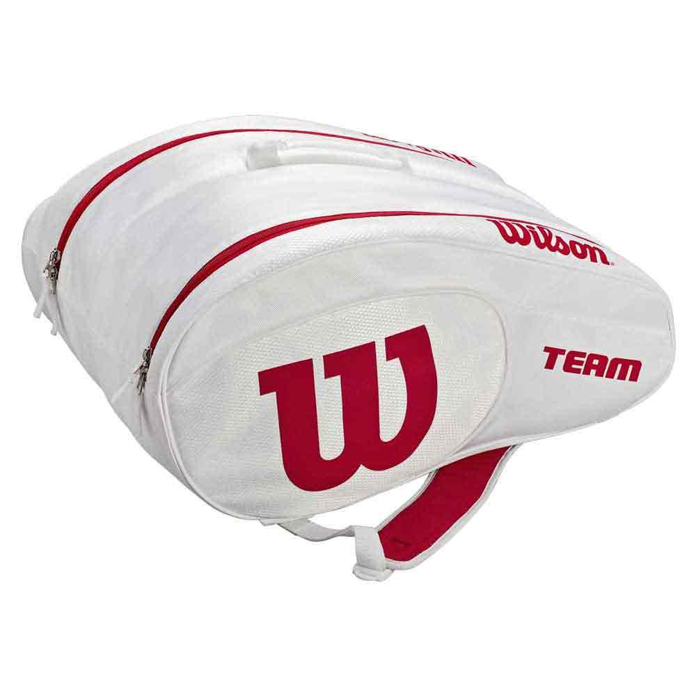 Wilson Team 1-2 Rackets White / Red