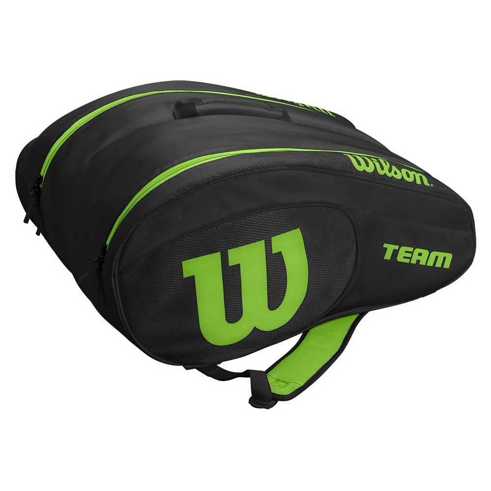 Wilson Sac Raquette Padel Team One Size Black / Green