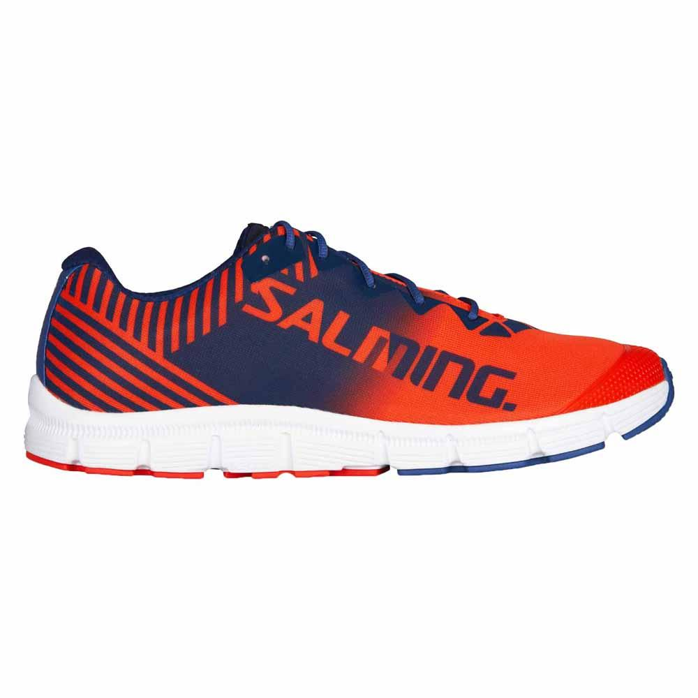 Salming Miles Lite EU 40 2/3 Orange Flame / Limoges Blue