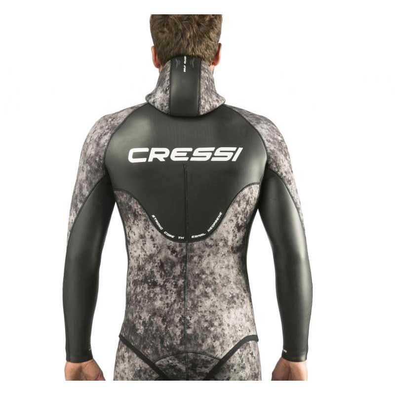 cressi-corvina-jacket-7-mm-6-black-grey-camo