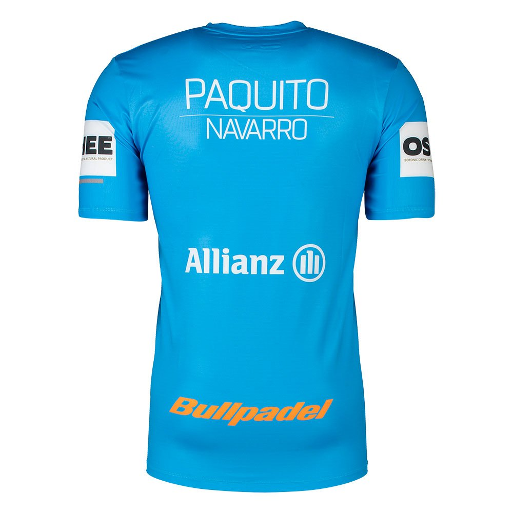 Bullpadel-Ternate-Paquito-Navarro-Rojo-Camisetas-Bullpadel-tenis