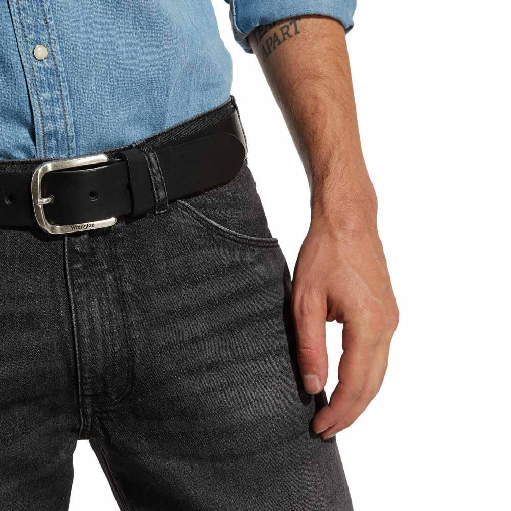 Wrangler-Easy-Belt-Noir-T55045-Ceintures-Homme-Noir-Ceintures-Wrangler-mode miniature 10