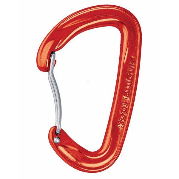 Singing Rock Vision Bent One Size Red