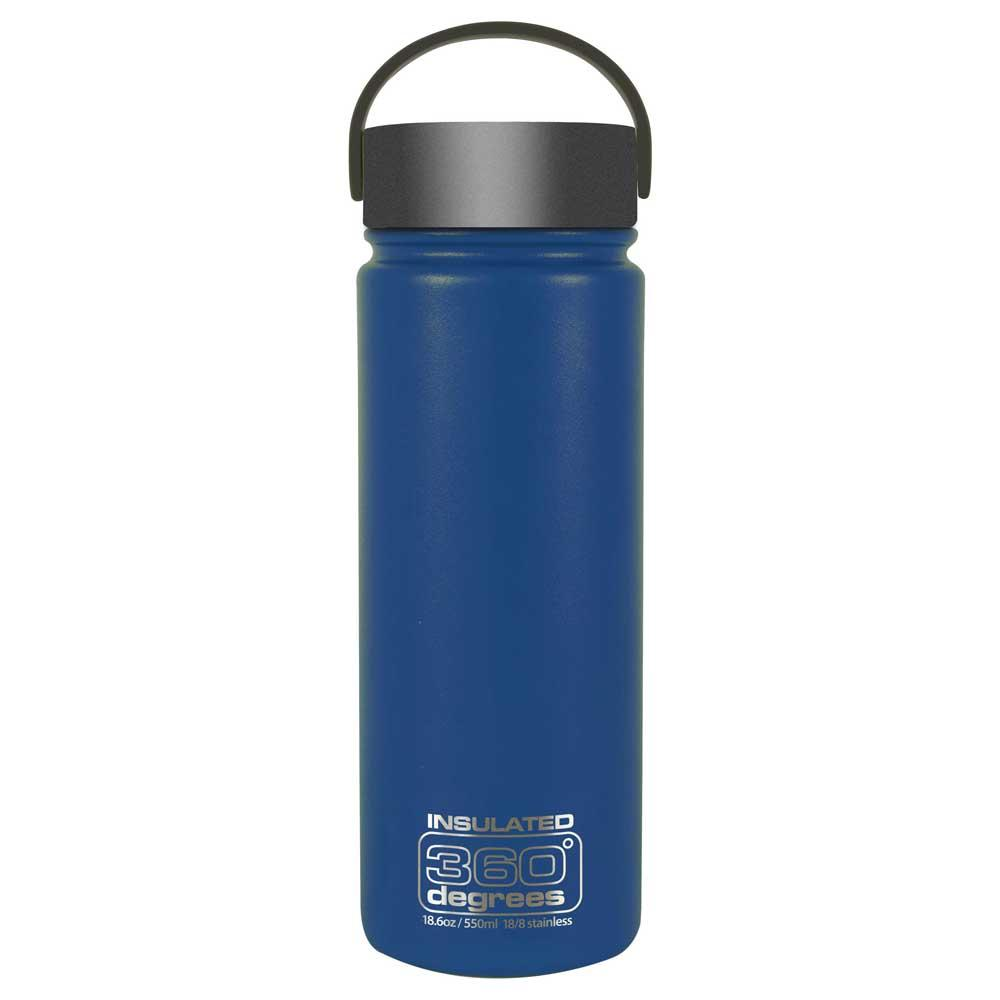 360 Degrees Wide Mouth Insulated 550ml One Size Dark Blue