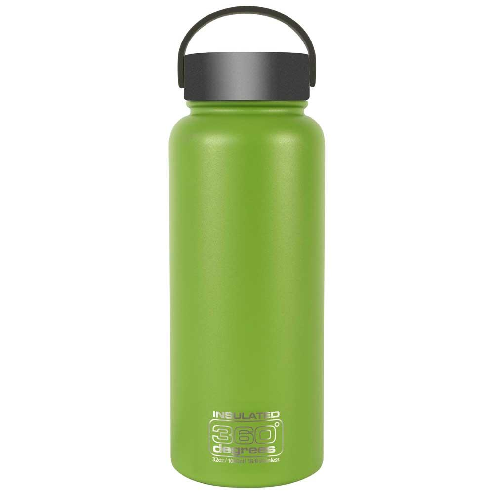 360 Degrees Wide Mouth Insulated 1l One Size Green