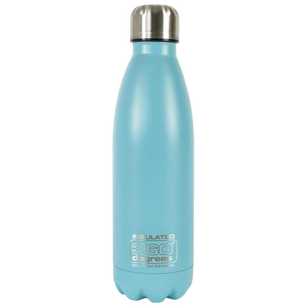 360 Degrees Soda Insulated 550ml One Size Light Blue