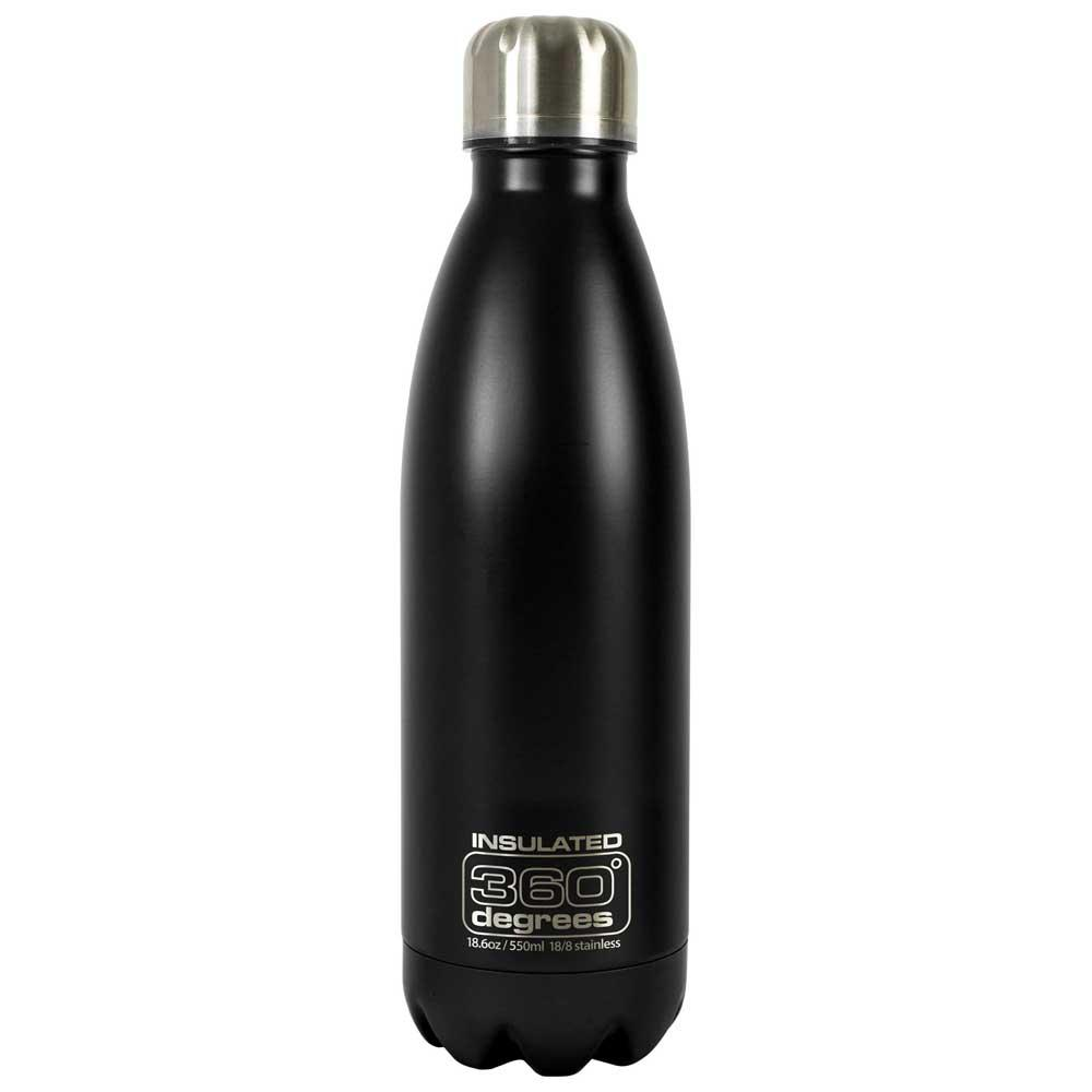 360 Degrees Soda Insulated 550ml One Size Black