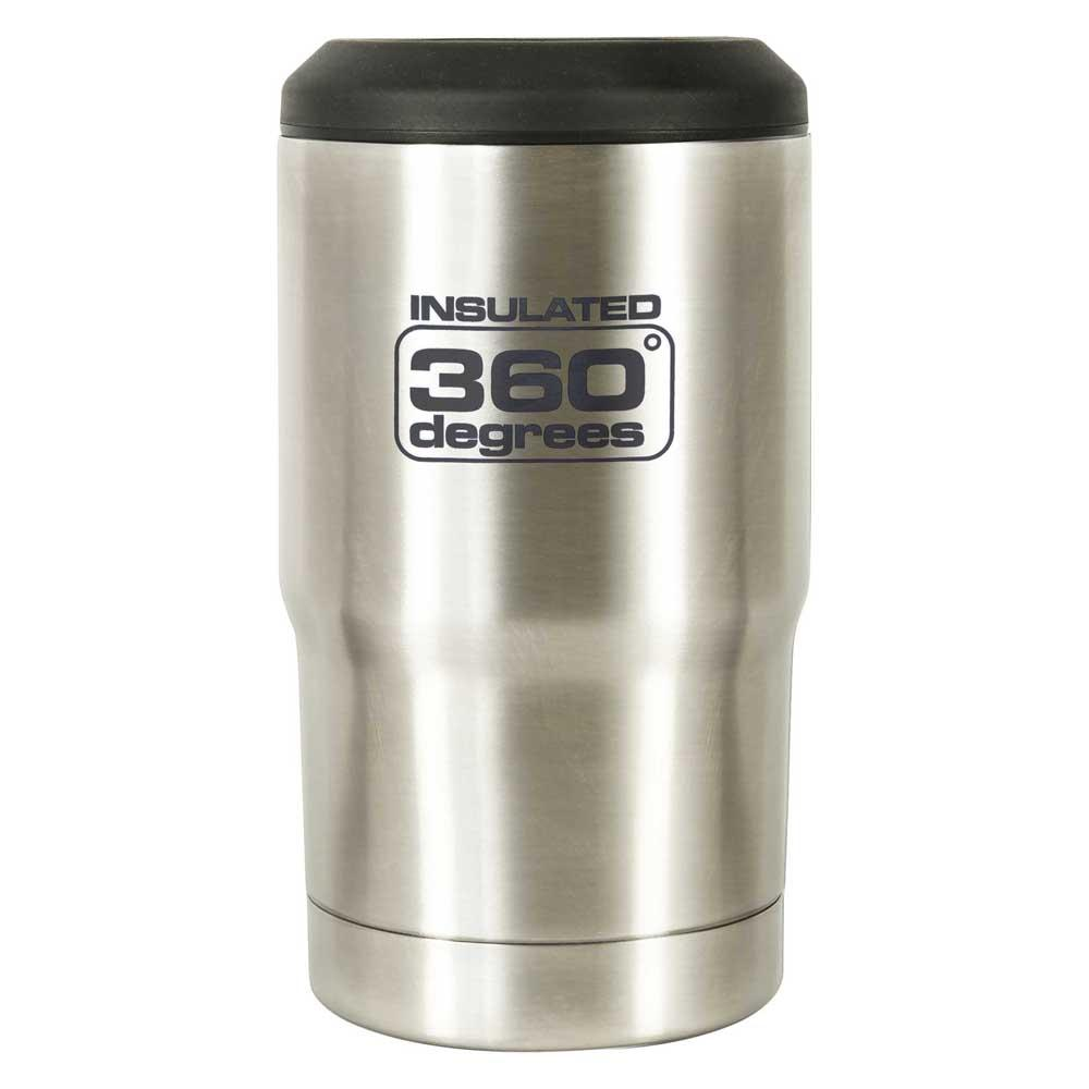 360 Degrees Beer Cozy One Size Stainless Steel