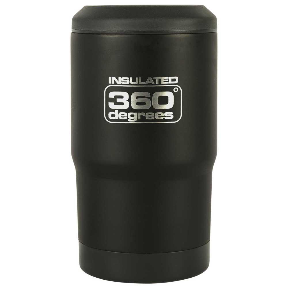 360 Degrees Beer Cozy One Size Black