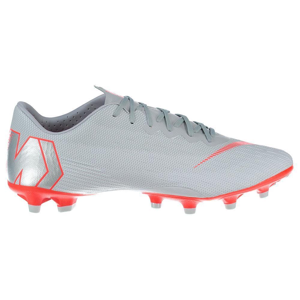 Nike Mercurial Vapor Xii Pro Ag Football Boots EU 40 Wolf Grey / Lt Crimson / Pure Platinum