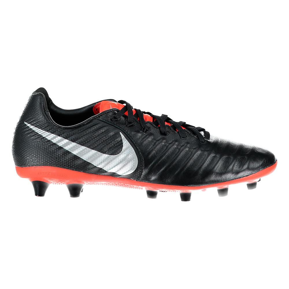Nike Tiempo Legend Vii Pro Ag Football Boots EU 40 Black / Metallic Silver / Lt Crimson
