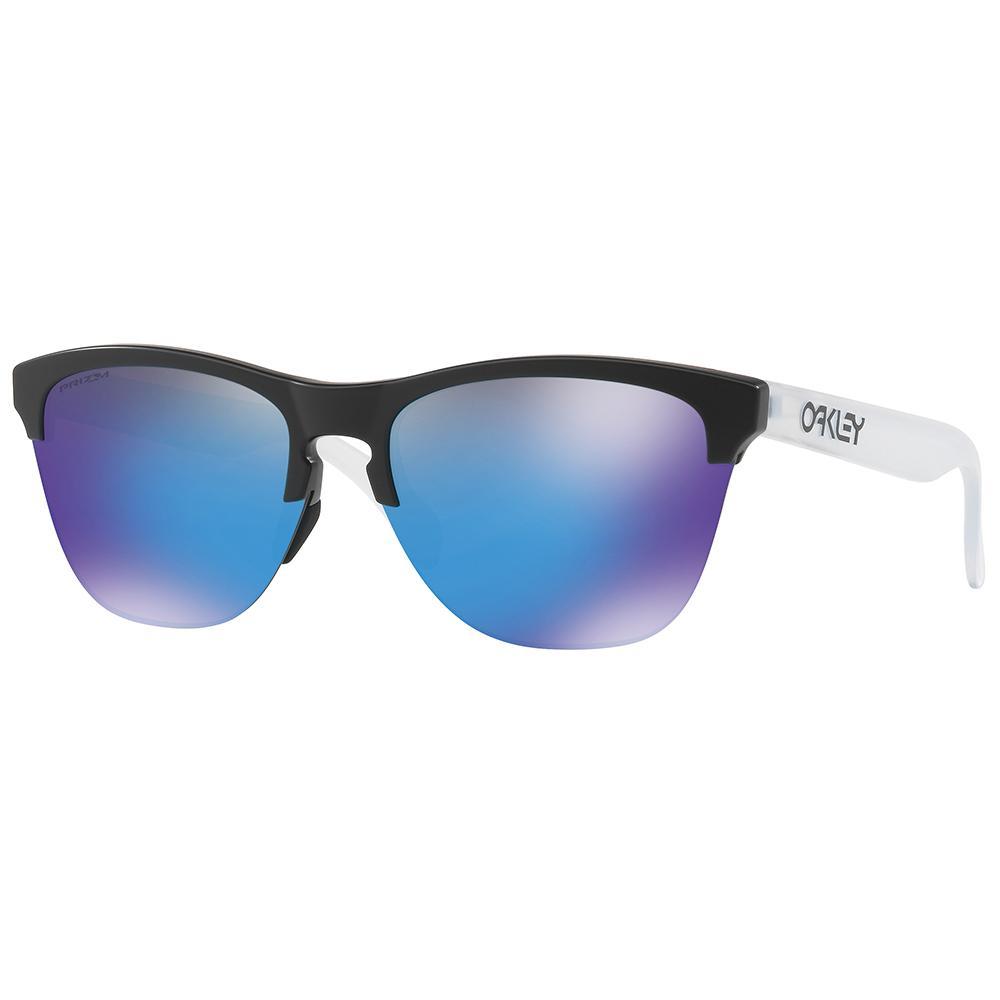 Oakley Frogskins Lite Prizm Prizm Sapphire/CAT3 Matte Black / Matte Clear