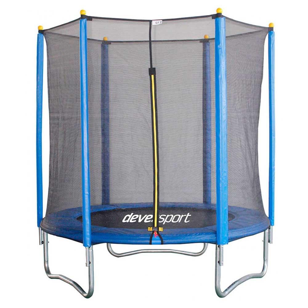 Devessport Trampoline With Net 182 cm