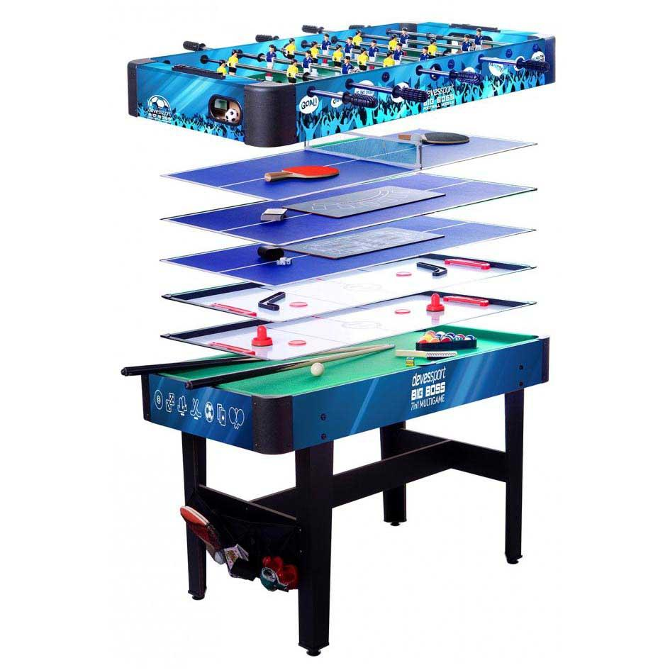 Devessport Table Multi-jeux 7 Dans 1 One Size