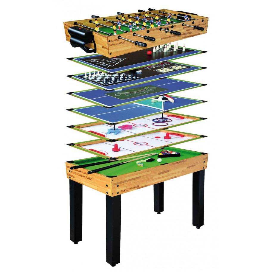 Devessport Table Multi-jeux 12 Dans 1 One Size