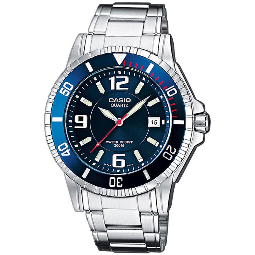 Casio Relógio Collection Mtd-1053d-2a One Size Blue - Relógios Relógio Collection Mtd-1053d-2a