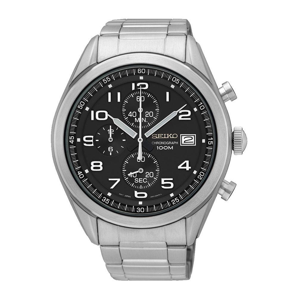 Seiko Watches Relógio Quartz Ssb269p1 One Size Black - Relógios Relógio Quartz Ssb269p1