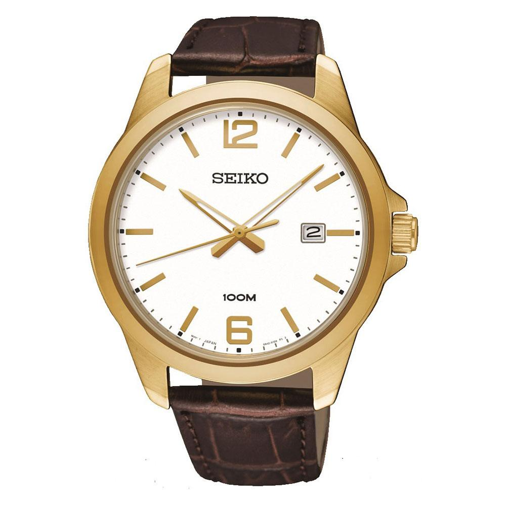 Seiko Watches Relógio Quartz Sur252p1 One Size Brown - Relógios Relógio Quartz Sur252p1
