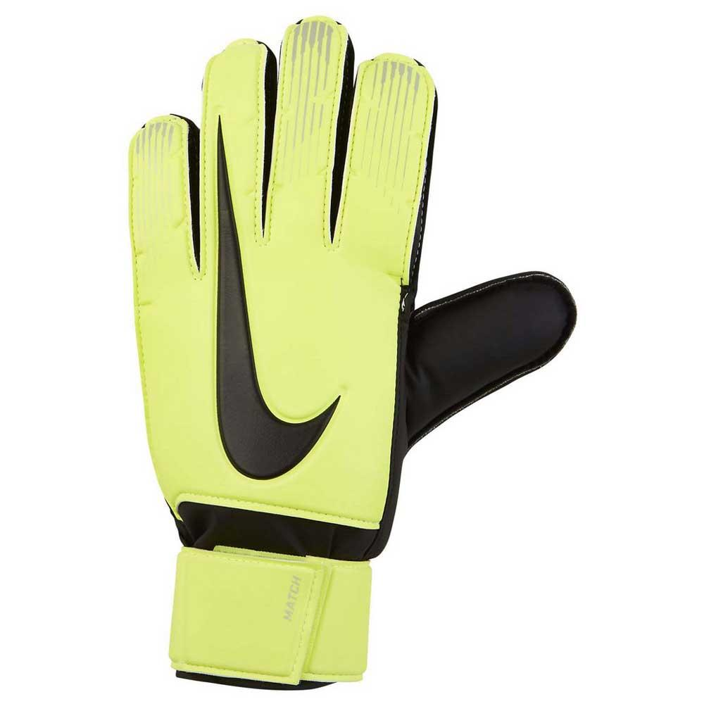 Nike Match 10 Volt / Black / Black