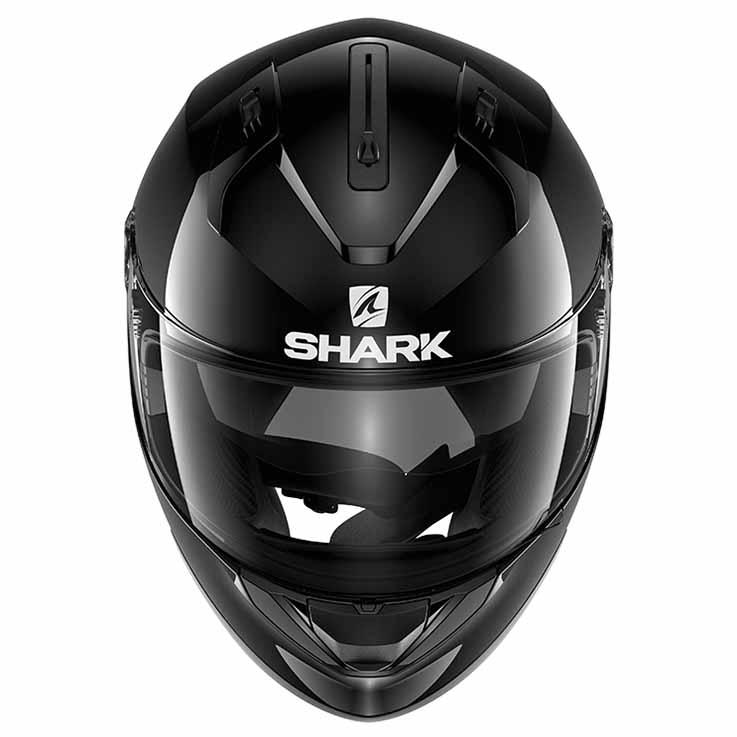 Shark Ridill Blank negro moto , Cascos Shark , moto negro , Protecciones 2552b3