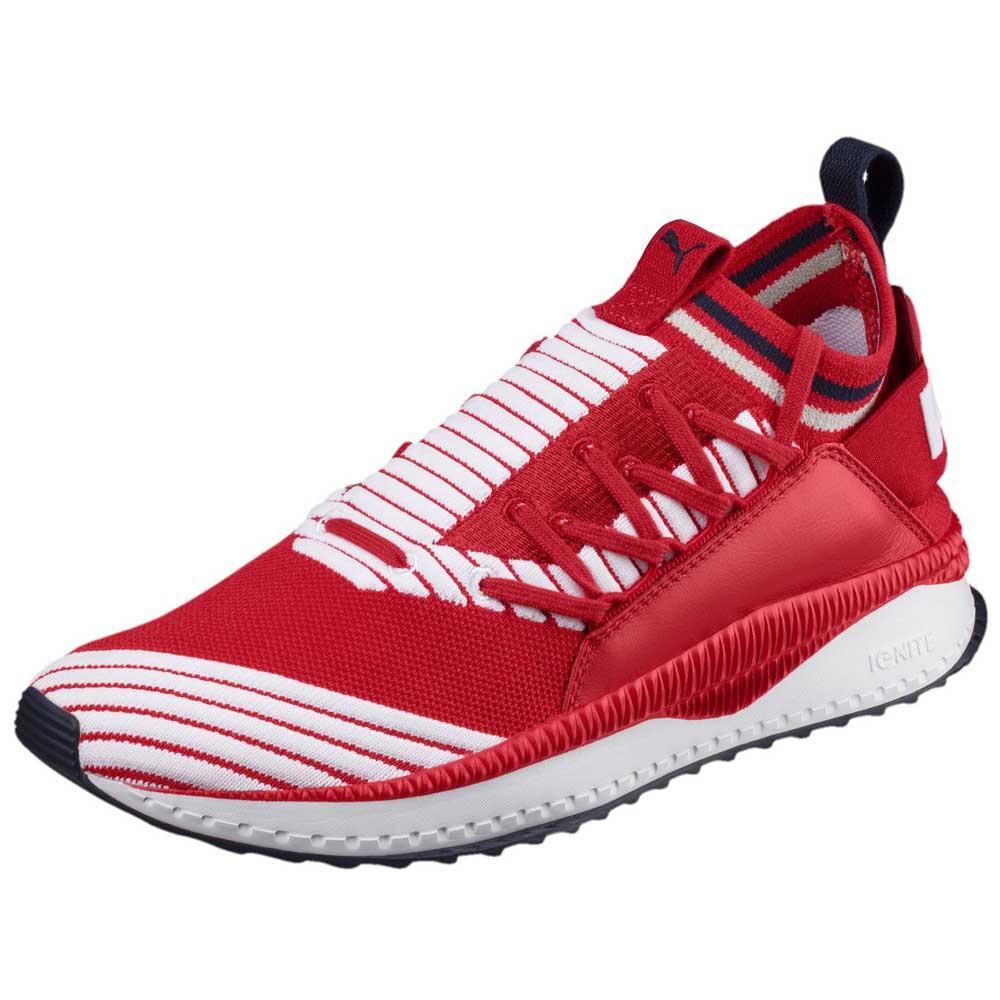 Puma Select Tsugi Jun Sport Stripes EU 46 Ribbon Red