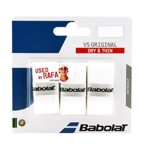 Babolat Surgrip Tennis Vs Original 12 Unités One Size White