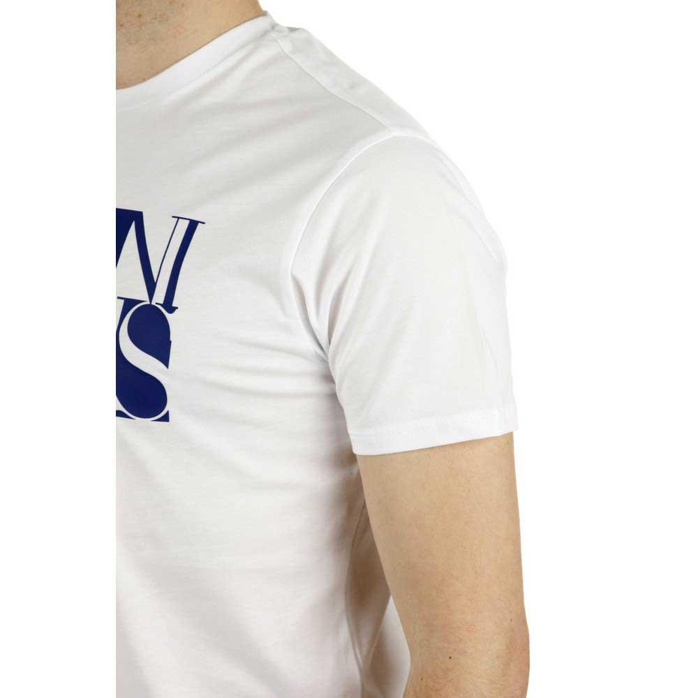 Armani Jeans C6h72-ff bianca , Magliette Magliette Magliette Armani jeans , moda , Abbigliamento Uomo 6179b6