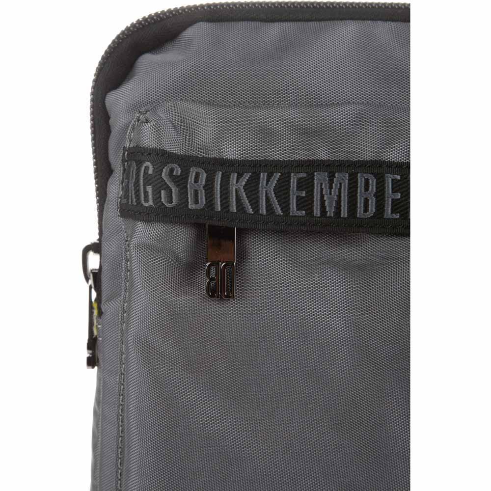 Bikkembergs Db Tape Tape Tape D0605 Dark grau  Umhängetaschen Bikkembergs  mode e6f7d8